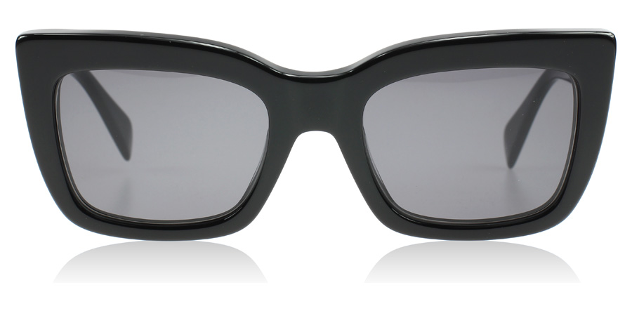 Celine Deep Square Sunglasses : Deep Square Black 807BN : UK