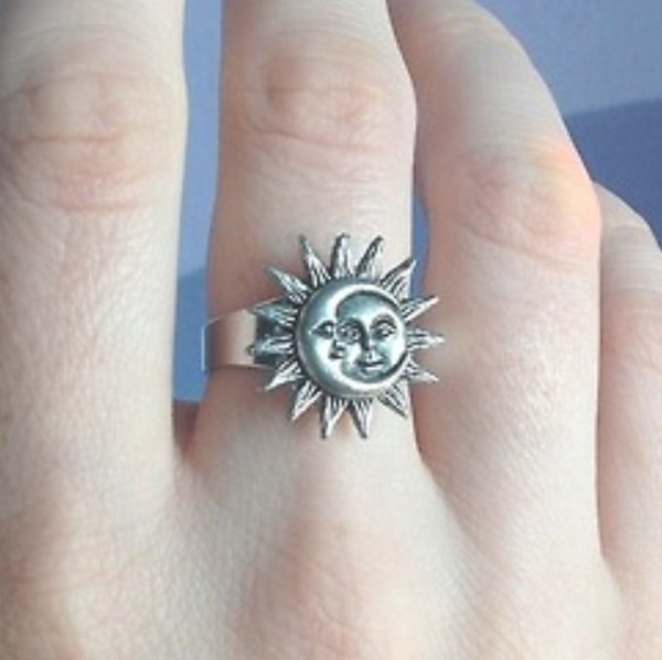 jewels ring sun moon moon and sun