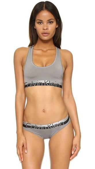 bralette grey underwear