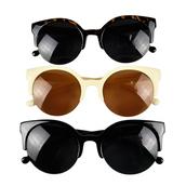 sunglasses,unisex,unisex sunglasses,designer,super round,circle,car eye sunglasses,semi-rimless,retro,retro sunglasses