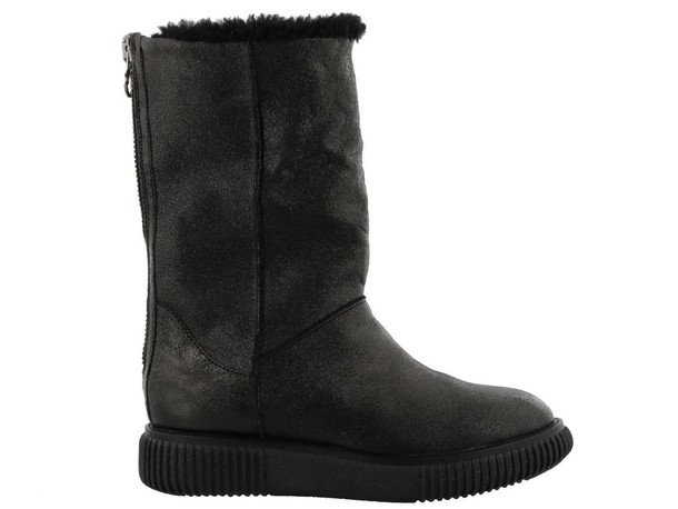 moncler boot new black shoes