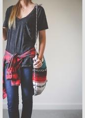 blouse,luv aaaallllllllll,luv eerything,shirt,bag,tribal pattern,jacket,native american,bags and purses,sholder bag,boho,boho chic,crossbody bag,side bag,flannel,hippie,grey,red,blue,print,unique bag