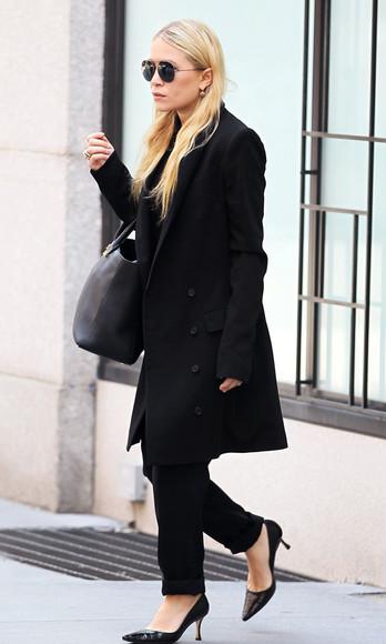 olsen sisters blogger sunglasses bag