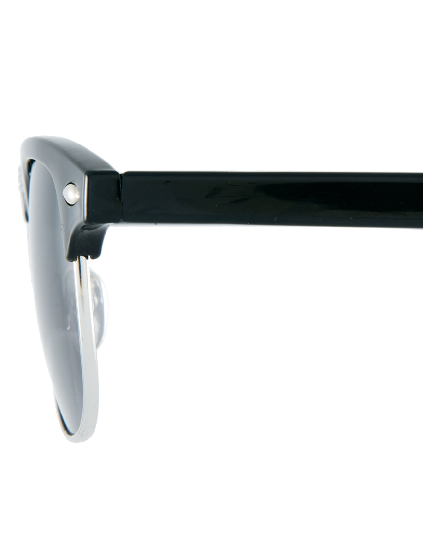 ASOS Clubmaster Sunglasses at asos.com