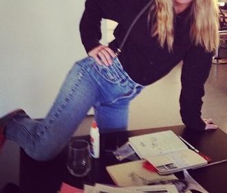 jeans blue fashion new york city slim fit