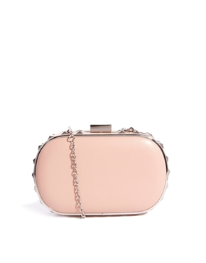 New Look | New Look Cameron Side Studded Box Clutch Bag at ASOS
