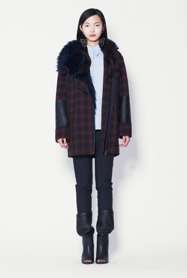 coat lookbook fashion phillip lim shirt pants shoes