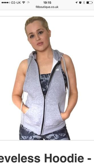 sweater sleeveless hoody gym bunny hoody zip hoody