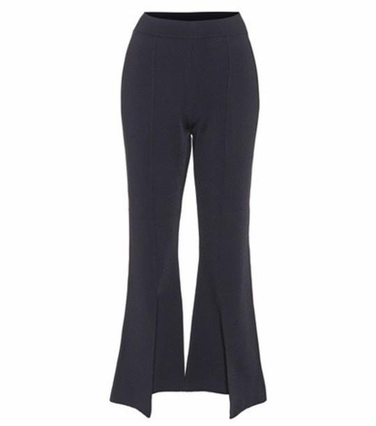 Stella McCartney cropped blue pants
