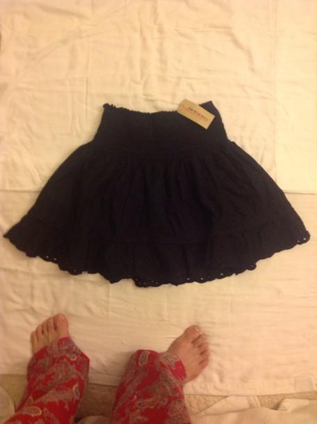 skirt elastic acted waist american rag