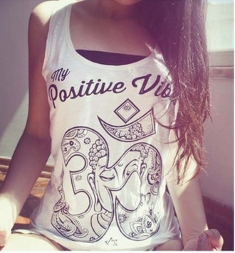 tank top girl girly girly wishlist print white white top tumblr sleeveless sleeveless top quote on it