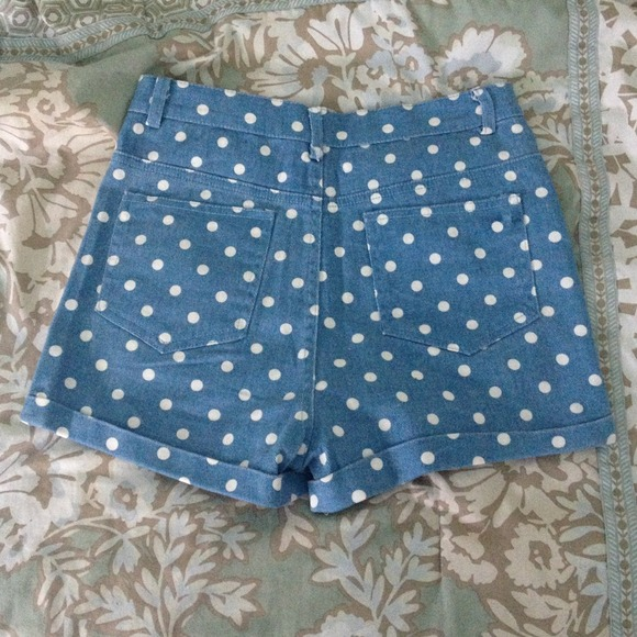 ?sold?brandy melville polka dot shorts from katie's closet on poshmark