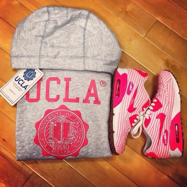 jacket ucla pink grey track jacket air max nike hot pink shoes