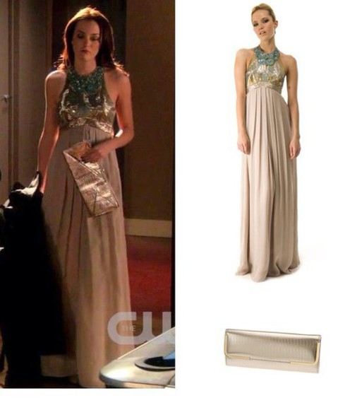 gossip girl blair waldorf gown long