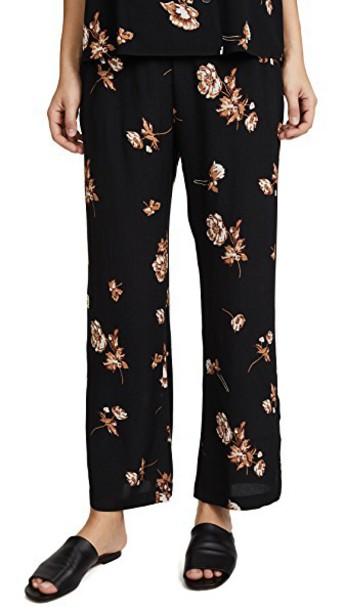 CAPULET pants floral