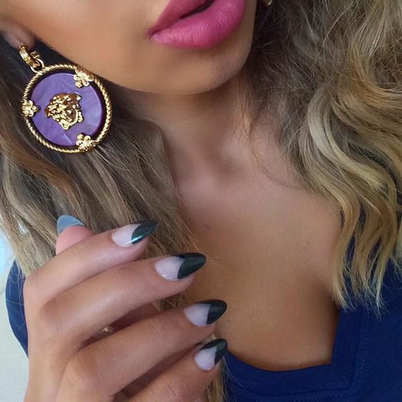 jewels earrings versace