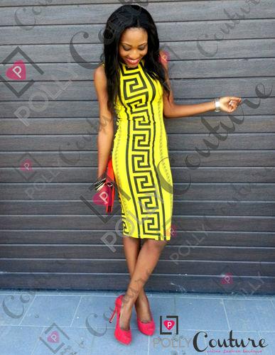 Womens Celeb Style Aztec Tribal Rocco Print Bodycon Party Pencil SS Ladies Dress | Amazing Shoes UK