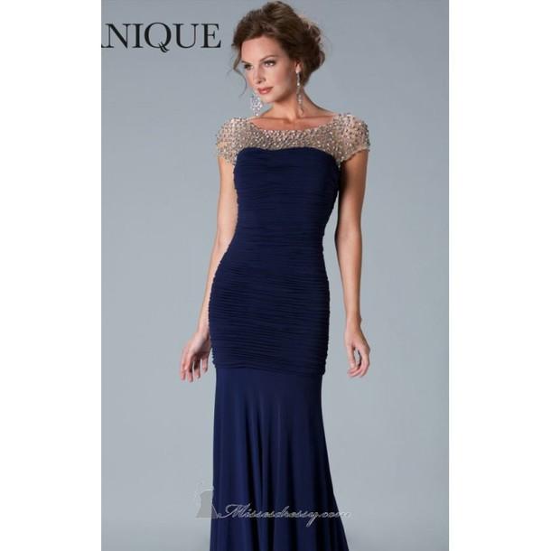 861a818028 dress janique mother of the bride dresses evening dress high-low dresses  sheer bonny