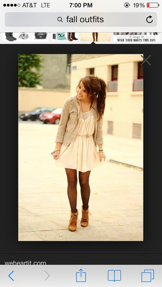 dress white lace shoes sweater
