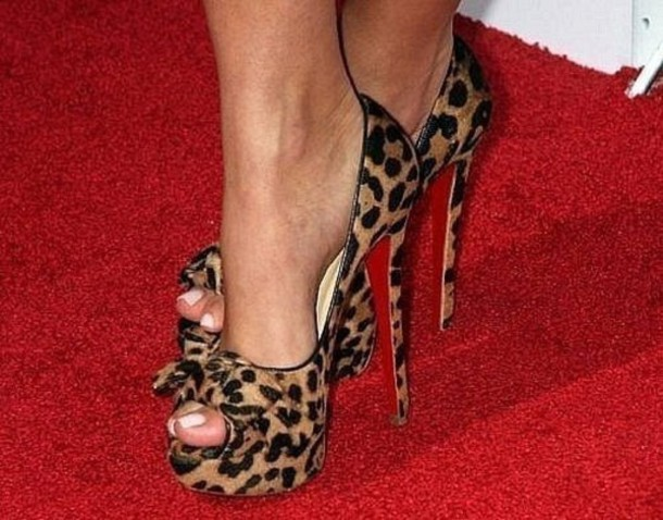 Christian Louboutin Leopard printed Sneakers Leopard