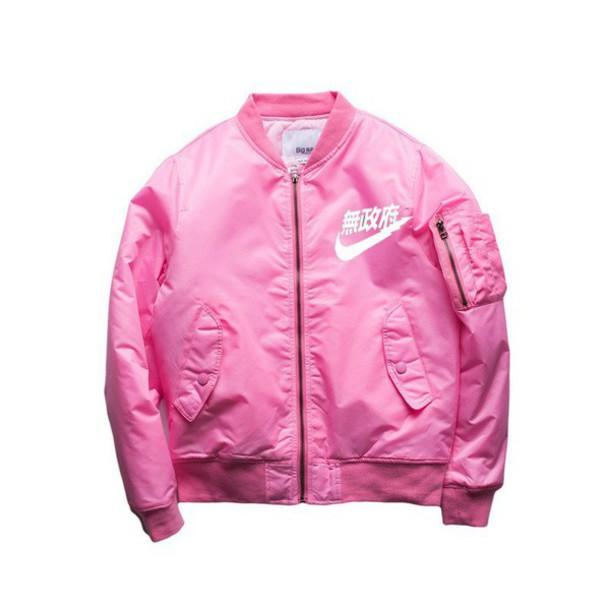 6e3260eac1 jacket bomber jacket nike bomber special edition ogv bomber jacket pink  pink jacket pink bomber jacket