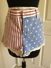 Topshop moto london sexy gorgeous top condition american flag size 32 usa