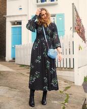 blogger,dress,shirt,jacket,top,shoes,bag