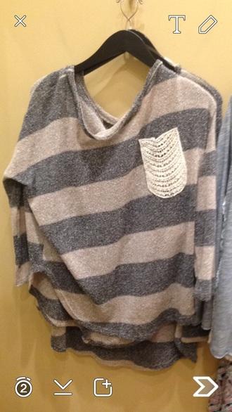 shirt sweater top cute dress cute top lace top lace romper grey sweater cream
