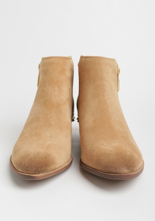 5f4fb612eff948 Holt Studded Ankle Bootie In Camel By Circus By Sam Edelman