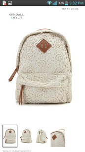 bag,hat,backpack,whitelacebackpack,white,lace,white lace