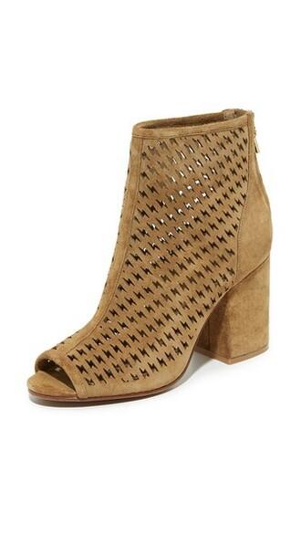 open booties shoes