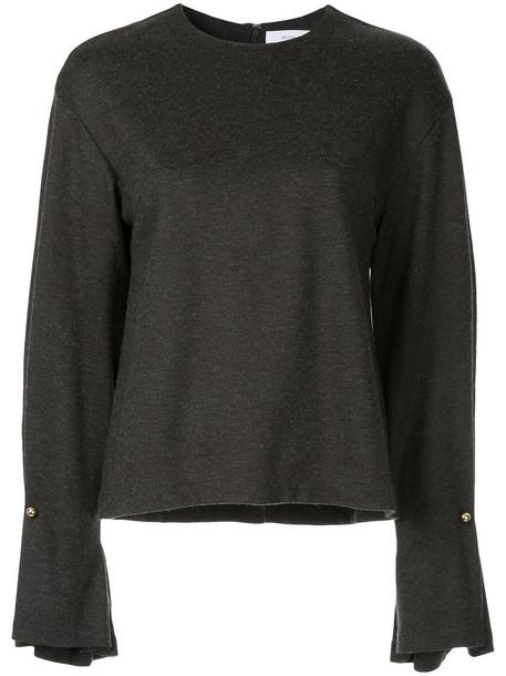 Le Ciel Bleu jumper women wool grey sweater