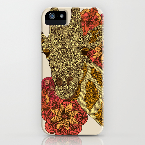 The Giraffe iPhone & iPod Case by Valentina Harper | Society6