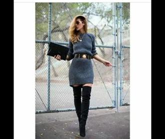 dress sweater dress knitwear