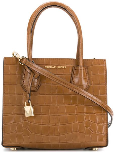 MICHAEL Michael Kors women leather brown bag