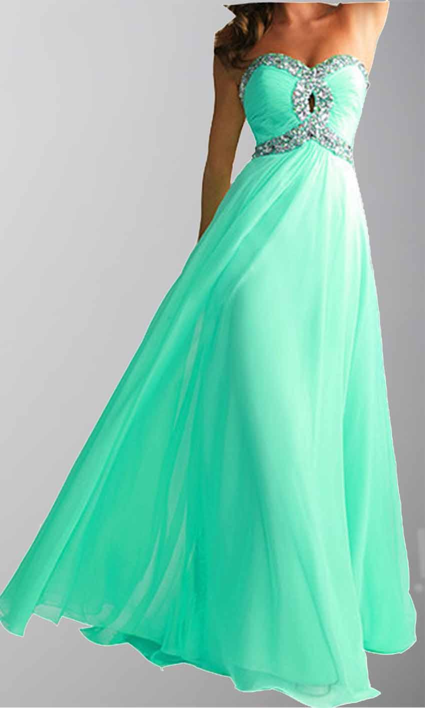 Keyhole Bust Mint Full Length Sequin Prom Dresses KSP307 [KSP307 ...