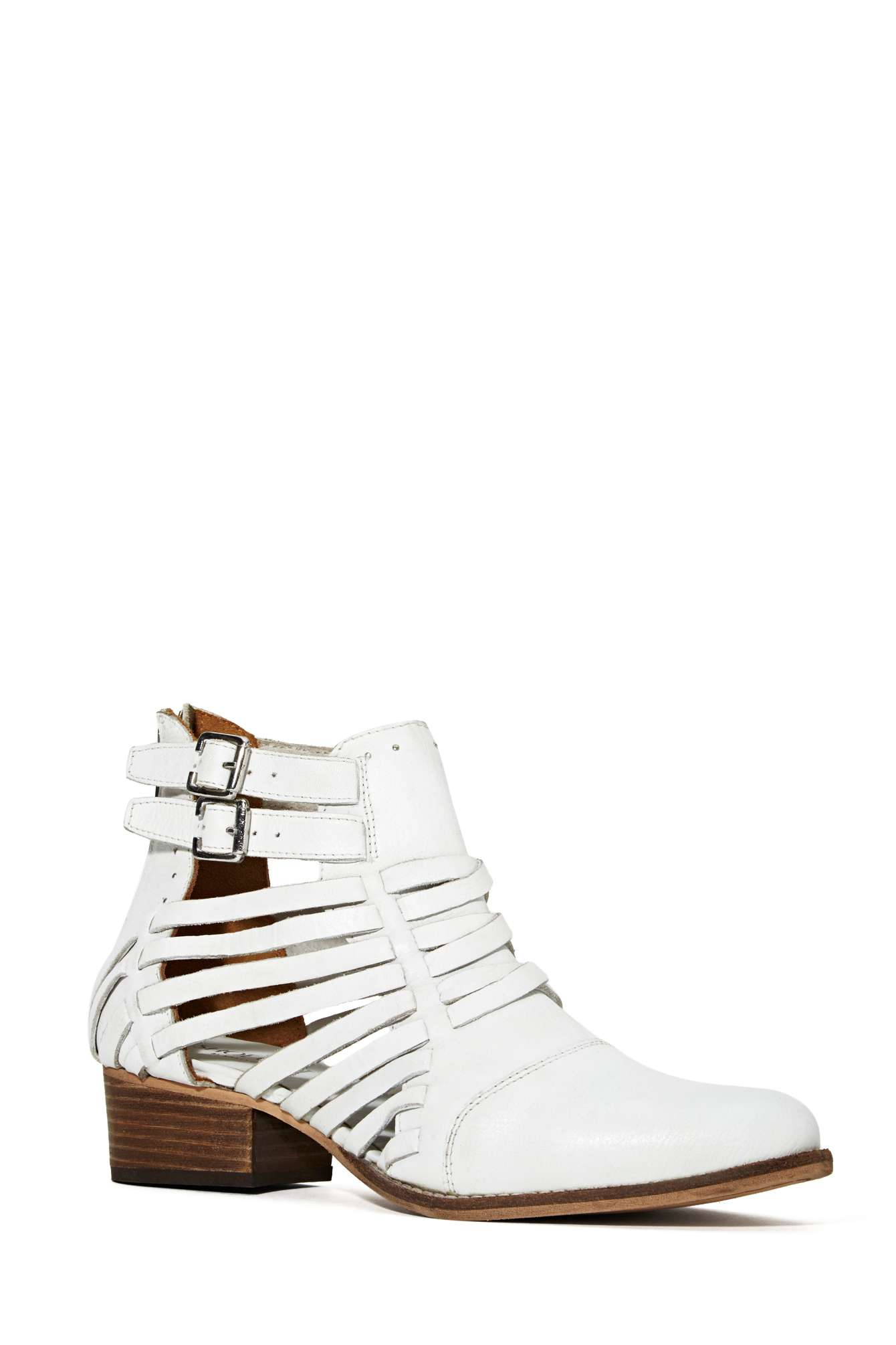 Shoe cult wild west side leather bootie
