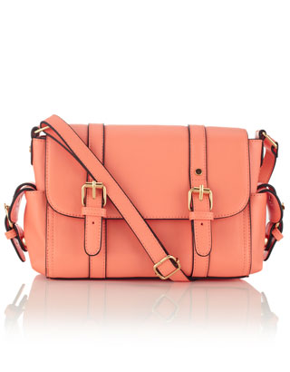 Clapham Side Pocket Satchel | Pink | Accessorize