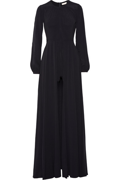 Hours of trade crepe jumpsuit