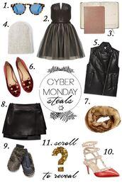 something navy,blogger,sunglasses,black friday cyber monday,gloves,tulle dress