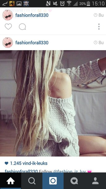 sweater beige sweater