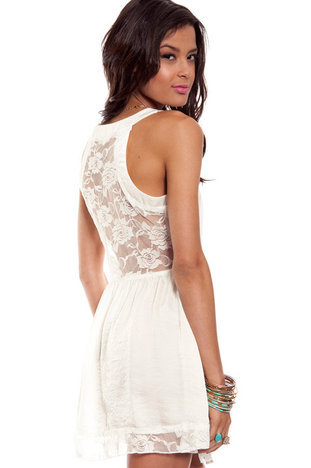 Day lace dress ~ tobi