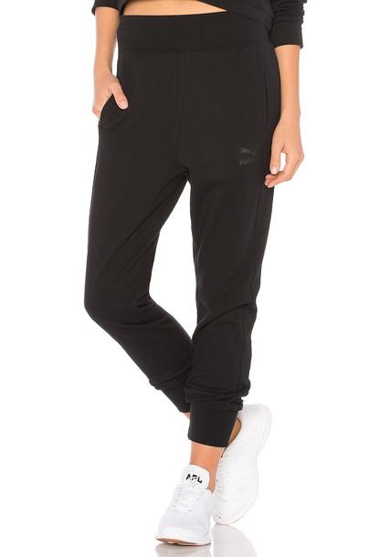 puma black pants