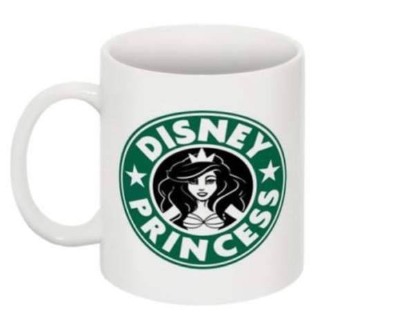 disney princess jewels mug ariel the little mermaid