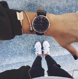 jewels watch black