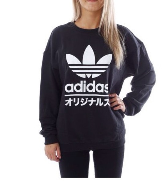 sweater adidas typo japanese