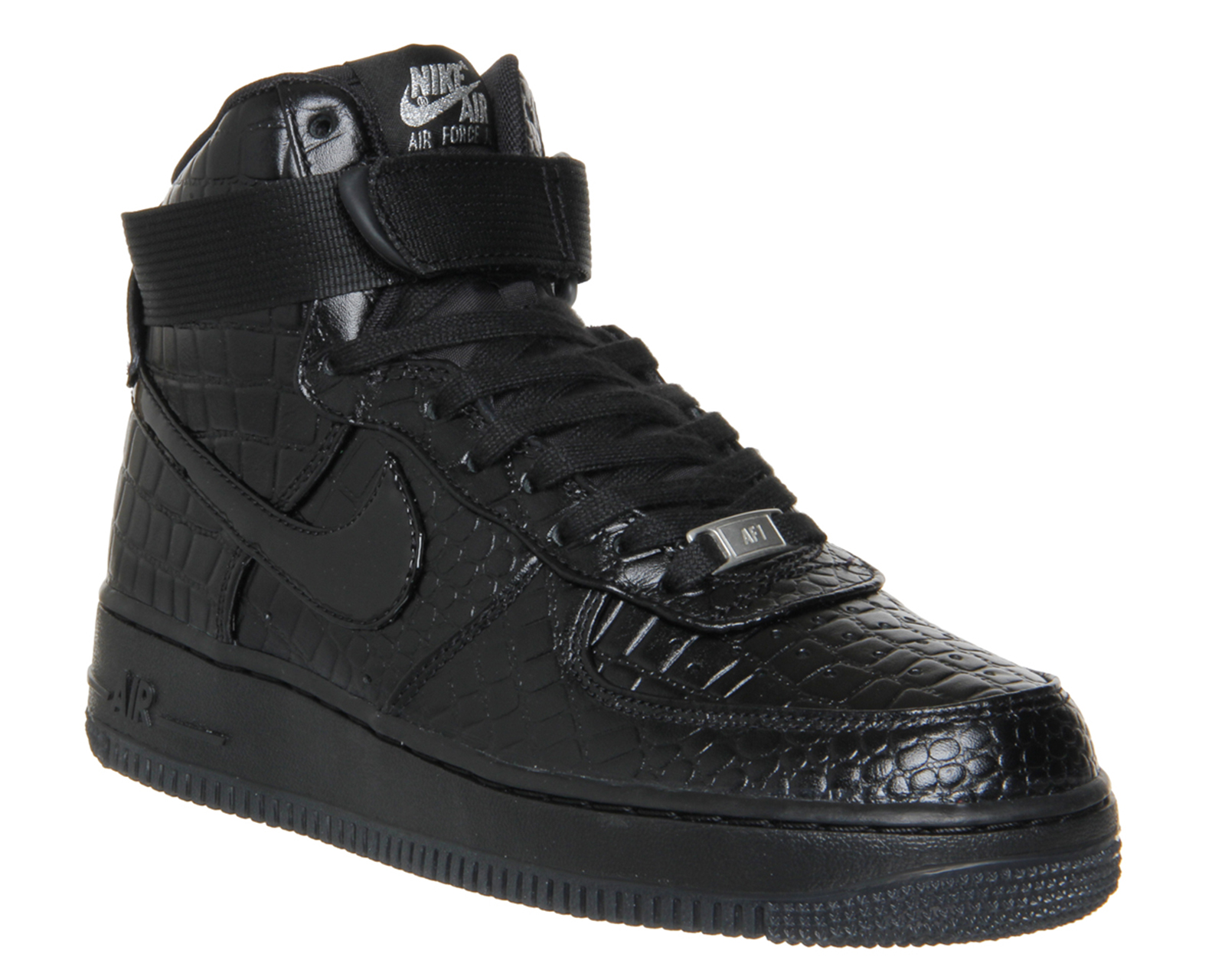 nike air force 1 womens high black white navy blue