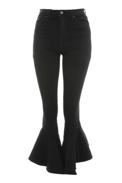 jeans mermaid black