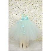 dress,mint dress,flowers,tutu dress,wedding clothes,black dress