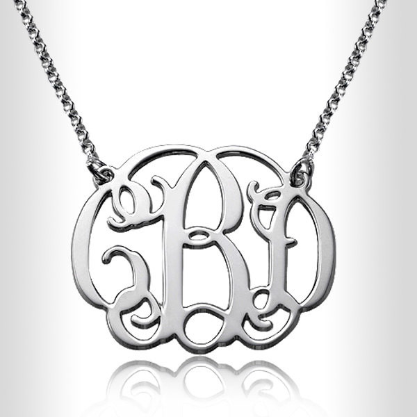 jewels personal monogram initial necklace gift ideas monogram necklace silver monogram gold monogram bridesmaid